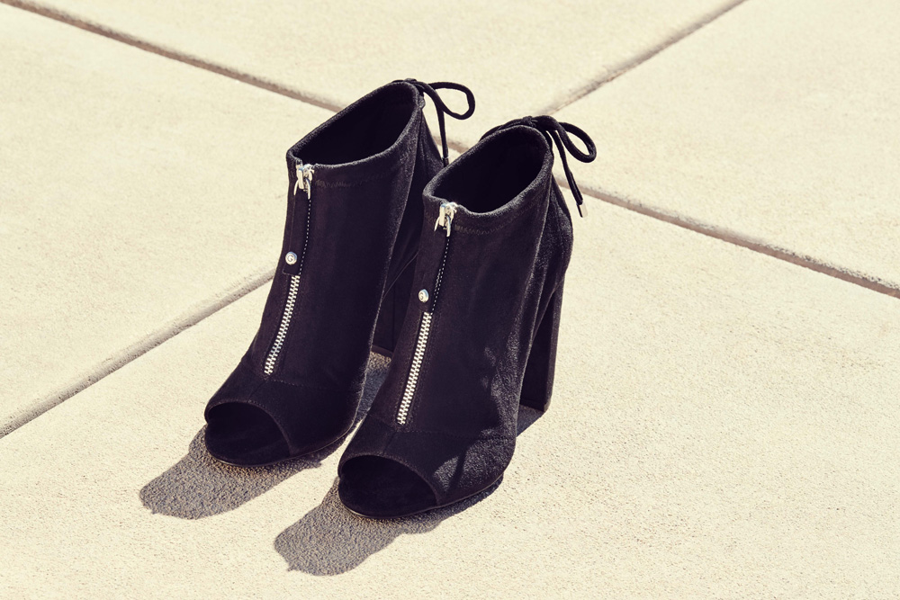 Pair of G by Guess booties.