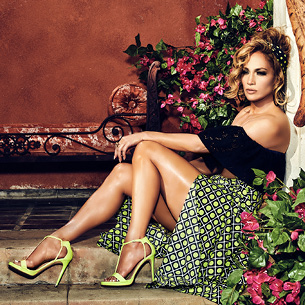 Jennifer Lopez Smolders In Guess Spring/Summer 2020 Campaign